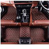 SADGE Custom Car Floor Mats PU cuero piso alfombra Set impermeable protección coche alfombras para Mercedes Benz Clase C W203 2000-2007