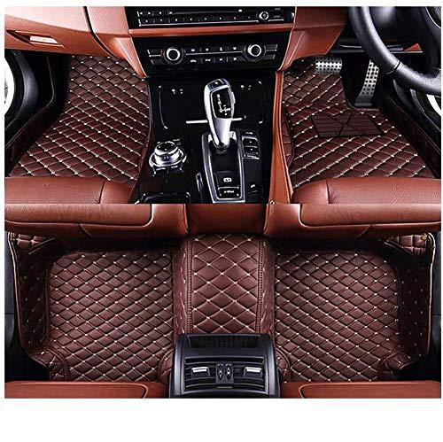 Alfombras de piso de coche personalizado protector de cuero PU delantero trasero pies alfombras antideslizante forro impermeable cobertura completa alfombras para Skoda Superb 2016-2020