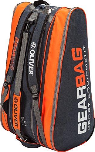 Oliver Gearbag anthrazit-orange Racketbag Tennis Squash Badminton
