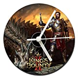 MasTazas King's Bounty II Orologio CD Clock 12cm