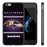 Ravens iPhone 6S Case,iPhone 6 Ravens Design Case TPU Gel Rubber Shockproof Anti-Scratch Cover Shell for iPhone 6S / iPhone 6 4.7-inch