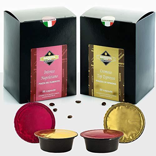 Barista Italiano 100 Lavazza A Modo Mio Compatible Capsules - Premium Coffee