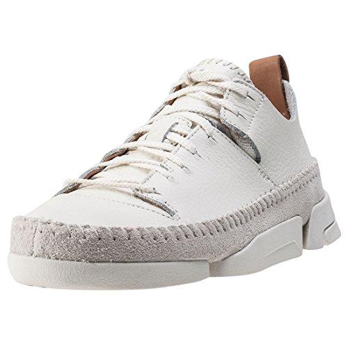 Clarks Originals Trigenic Flex, Damen Sneakers, Weiß (Weiß Nubuck), 39 EU (5.5 Damen UK)