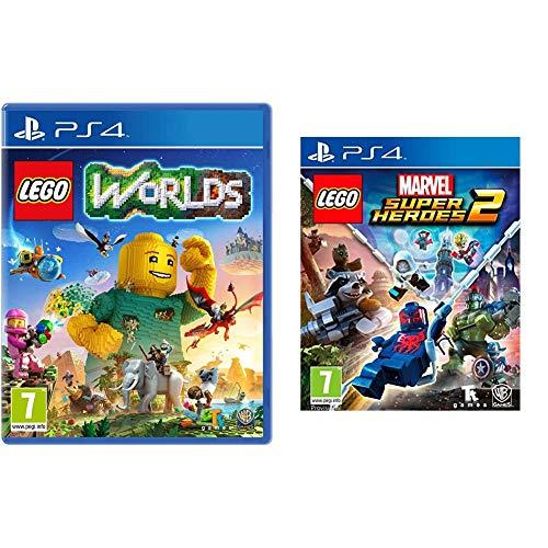 Warner Bros Interactive Spain (VG) LEGO Worlds - Edición Estándar + Lego Marvel Super Heroes 2