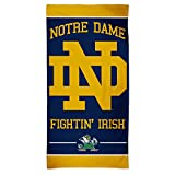 WinCraft NCAA Notre Dame Fighting Irish Beach Towel, Team Color, One Size