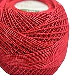 Anchor Mercerized Cotton Crochet 4054020 00047 - Cherry Red 20 g x5