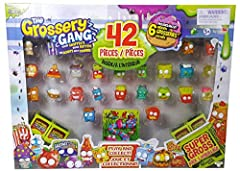 Includes 42 Pieces Includes 6 Hidden Grosseries Play and have fun Super Gross Collect as you go!