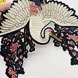 Lorsoul Flores de Bricolaje Ropa Bordada a Mano de Costura Parches Apliques Traje artesanía Accesorios de la Goma
