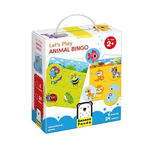 Banana Panda - Let's Play Animal Bingo - Klassisches Kinderspiel ab 2 Jahren