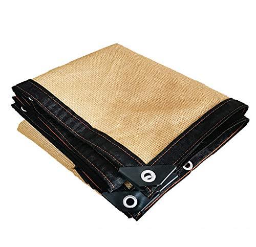 WANJIA 95% Shade Fabric Sun Shade Cloth en 4 Lados con Ojales, para cocheras, invernaderos, Plantas, Flores, huertos, gallineros, Aves de Corral, graneros, perreras,Width*Long:3 * 10m/9.8 * 32.8ft