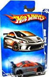HONDA CIVIC Si Hot Wheels 2009 Modified Rides Series 6/10 Silver Honda Civic Si 1:64 Scale Collectible Die Cast Metal Toy Car Model #162