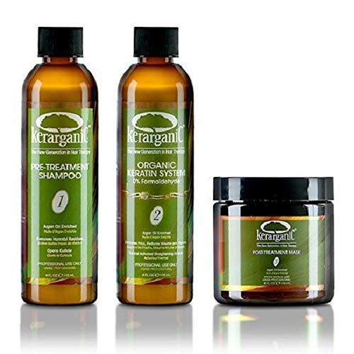 Kerarganic Organic Keratin Treatment Set