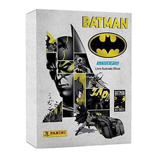 Box Premium Batman 80 Anos: Livro Capa Dura + 48 envelopes + Livro Batman 66
