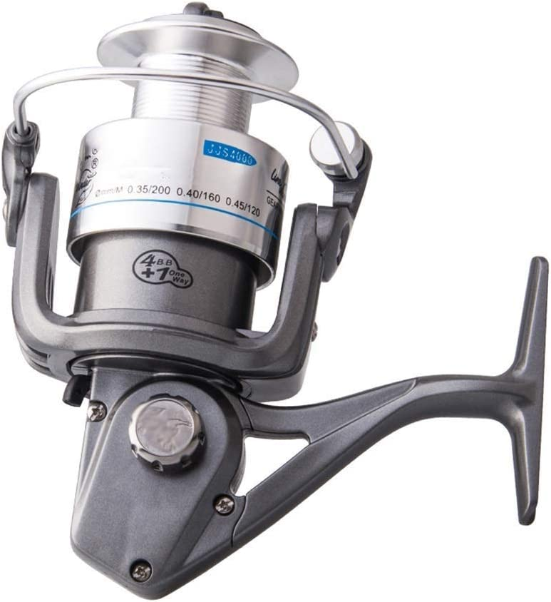 CDQYA Fishing Wheel - Reel Fish Metal Fa Raleigh Mall Head In a popularity Full