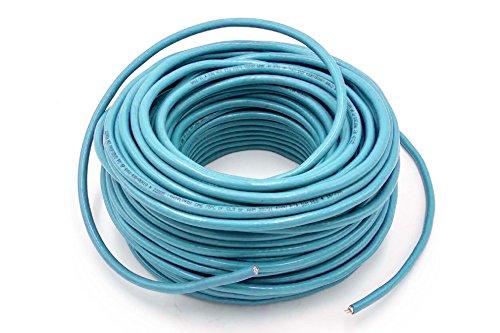 vhbw Verlegekabel Ersatz für 6XV1830-3EH10 (Profibus FC) für Netzwerk-Anlage - Netzwerkkabel, Blau, 100 m