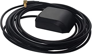 Othmro GPS Antena Activa MCX Macho Codo Macho Conector Aéreo Cable Magnético 3 Metros M 1 unids