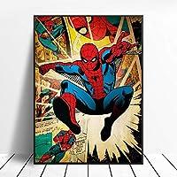 ヒーローズコミックDIY5Dダイヤモンドペインティング(ナンバーキット)、クリスタルラインストーンダイヤモンド刺繍絵画写真アートクラフト(家の壁の装飾用)