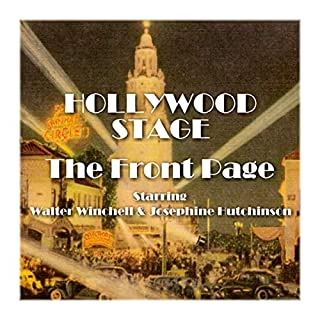 Hollywood Stage - The Front Page cover art