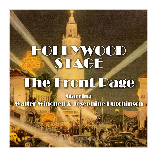 Hollywood Stage - The Front Page  By  cover art