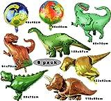 Sunshine smile Dino Luftballons,folienballon Dinosaurier ,Balloon Bouquet Dekoration,Dinosaurier...