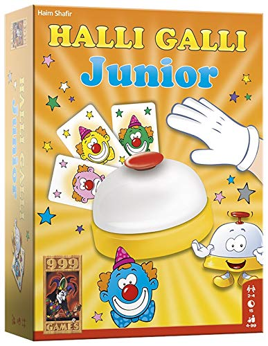 999 Games 999-Gal03 Halli Galli Junior Actiespel Actiespel, Multikleur