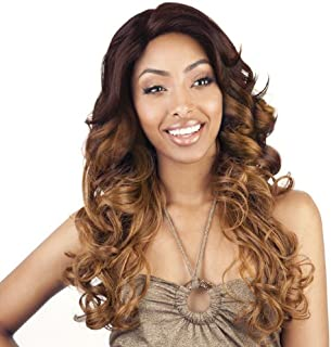 ISIS BROWN SUGAR Human Blended Lace Front Wig - BS207 (#1B - Off Black) by ISIS HAIR