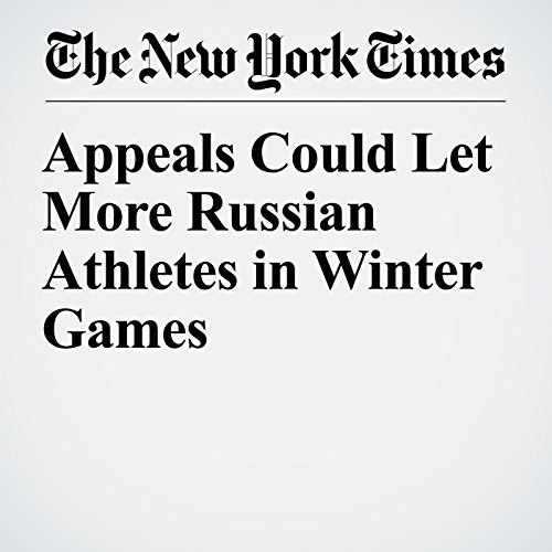 Appeals Could Let More Russian Athletes in Winter Games copertina