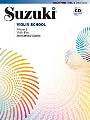 Suzuki Violin School Revised Edition Violin Part Book & CD Volume 1 Book and CD 48 page book and the CD features new recordings by Bill Preucil The Suzuki Method of Talent Education was delevoped by world-renowned violinist and teacher, Dr. Suzuki. P...