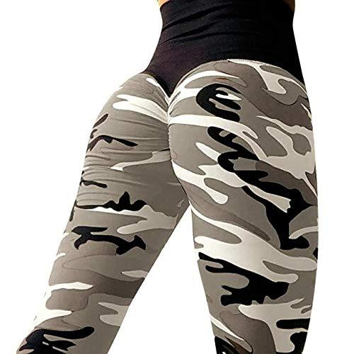 Yogabroek met hoge taille voor dames, hardloopfitness-legging, legging, sportkleding, push-up van de billen
