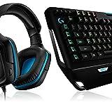 Logitech G910 Orion Spectrum mechanische Gaming-Tastatur, Taktile Romer-G Switches, RGB-Beleuchtung + Logitech G432 kabelgebundenes Gaming-Headset, 7.1 Surround Sound, DTS Headphone:X 2.0