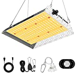 Phlizon Upgrading 600W Dimmable Plant Led Grow Light...