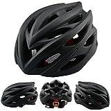 XQxiqi689sy - Casco de bicicleta para bicicleta de montaña, color mate, Hombre, color matte black, tamaño talla única