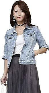 Best jean jacket 3/4 sleeve Reviews