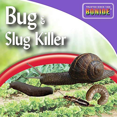 Bonide (BND908) - Garden Naturals Bug and Slug Killer Bait, Insecticide/Pesticide (1.5 lb.)