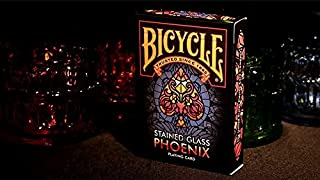 MTS Bicycle Stained Glass Phoenix Playing Cards