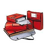 García de Pou 148.36 Bolsa Transporte Pizza, 43 x 45 x 13 cm, Rojo
