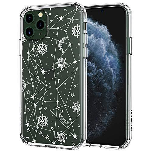 MOSNOVO Cover iPhone 11 PRO Max, Cielo Notturno Trasparente con Disegni TPU Bumper con Protettiva Custodia Posteriore per iPhone 11 PRO Max (Night Sky)