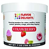 FLAVOR DELIGHTS: STRAWBERRY [7.0 oz / 198 grams] DELICIOUS: Flavoring powders for Cakes, Cake Pops, Cookies, Pastries, Muffins, Gelatin, Icing, Whip Topping, Cheese Cakes, Macarons, Waffles, Pancakes and endless baking creations! SIMPLE & FAST: Add 1...