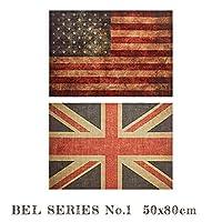 マット BEL RUG NO.1 50x80 ラグ 絨毯 じゅうたん カーペット TypeB