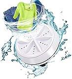 Mini lavadora portátil de turbina ultrasónica lavadora, lavadora portátil con USB para viajes de negocios o salas universitarias (A)