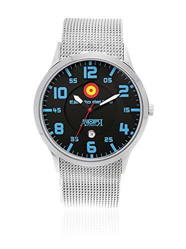 AVIADOR Reloj con Movimiento japonés Av-1107 44 millimeters