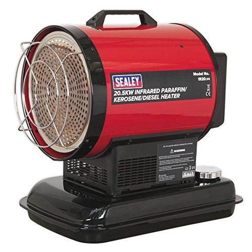 Sealey Infrarot Paraffin/Kerosin/Diesel Heizstrahler 230V, IR20
