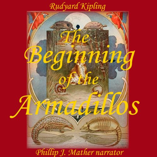 The Beginning of the Armadillos audiobook cover art