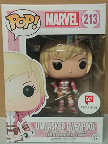 Funko POP! Marvel: Gwenpool sin máscara