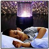 Proyector Estrellas Nuevo increíble LED Cielo nocturno Proyector Lámpara Estrella Cosmos Master Niños Regalo Luz Noche Lámpara Inicio Party Brillo Suministros Luces ( Emitting Color : Changeable )