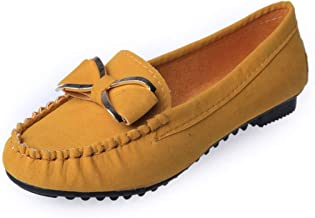 Fannyfuny Zapatos Mujeres Casuales Zapatillas Mocasines Tobillo Zapatos de Trabajo Señoras Casual Loafers Verano Bloque Comodos Zapatos de Vestir Mujer Planas