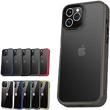 薄型軽量 背面マットケース iPhone12/12Pro グレー(マット)