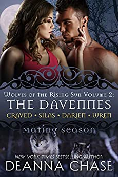 The Davennes: Wolves of the Rising Sun: Volume 2: Mating Season by [Deanna Chase]