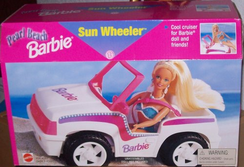 Pearl Beach Barbie Sun Wheeler by Barbie