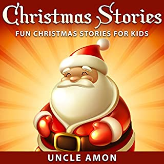 Christmas Stories: Fun Christmas Stories for Kids audiobook cover art